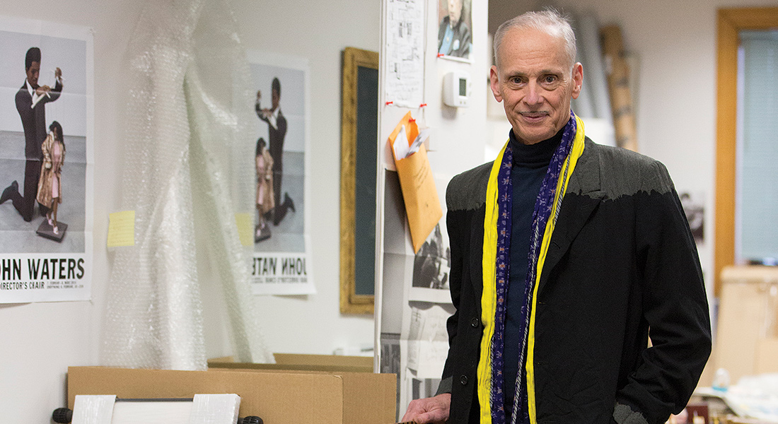 Portrait of John Waters