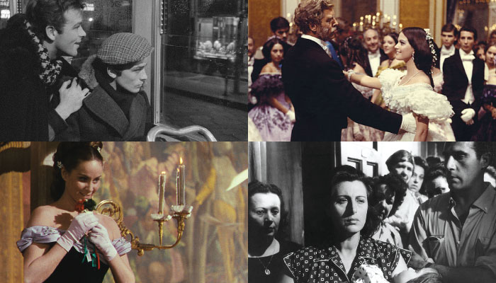 Images from Luchino Visconti's early films