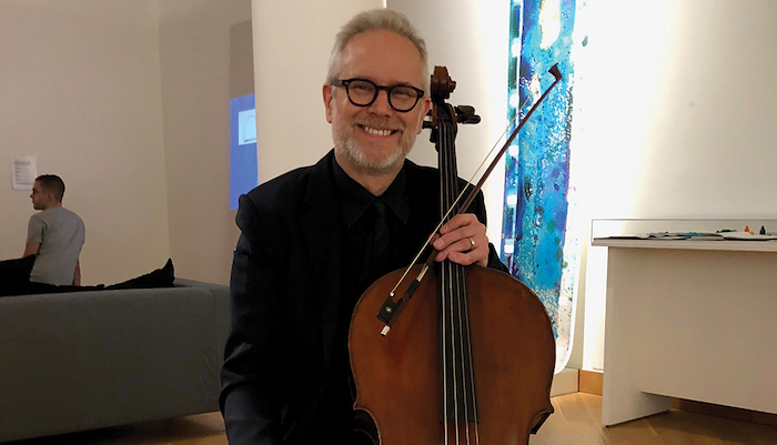 Architect and Barbara Hammer Evidentiary Bodies composer N. Scott Johnson