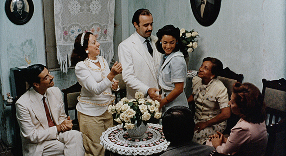 A wedding scene from the movie Dona Flor.