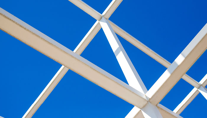 the Wex grid against blue sky