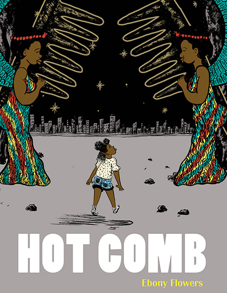 Cover of the graphic novel Hot Comb