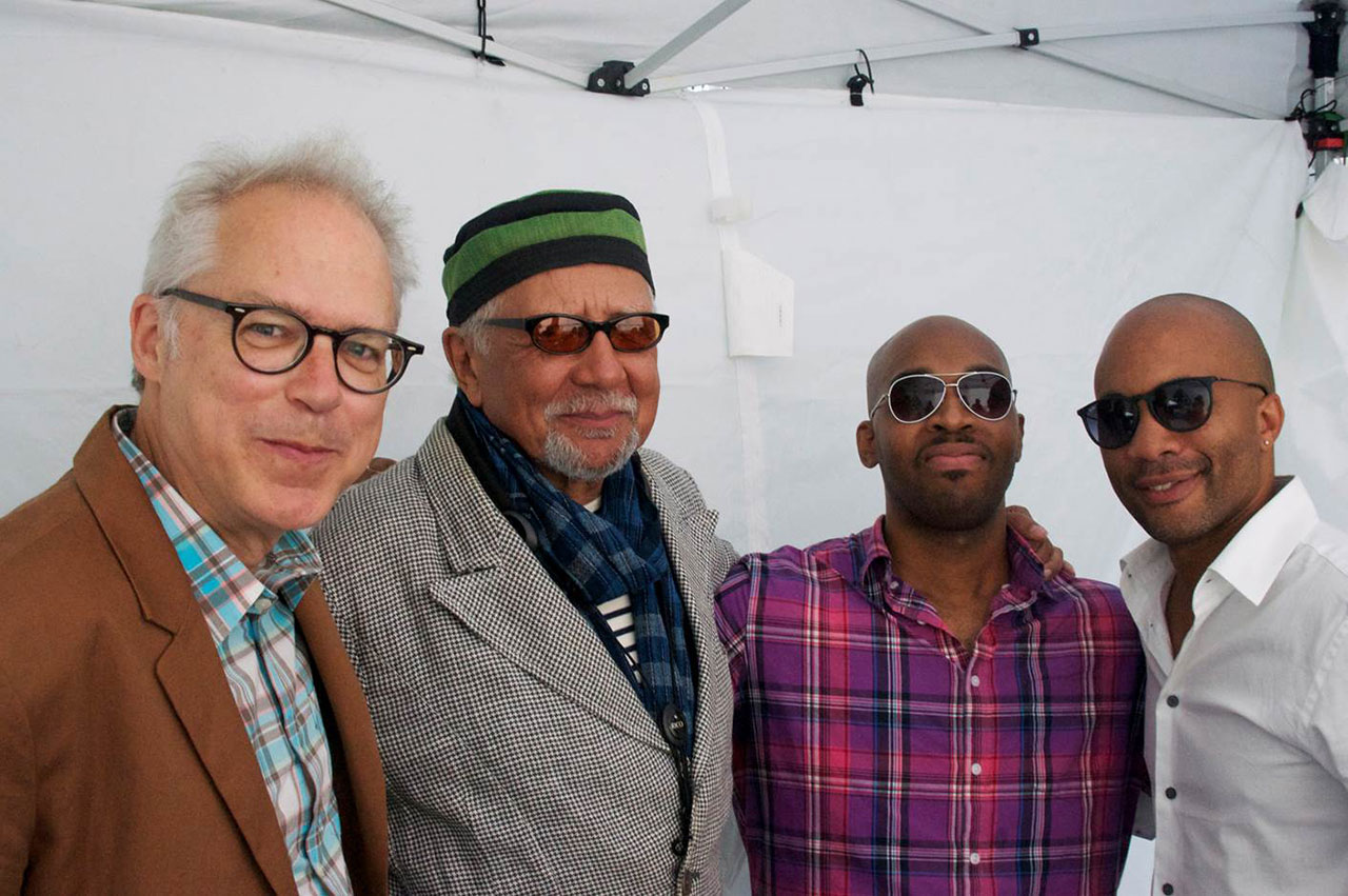Bill Frisell, Charles Lloyd, Eric Harland, and Reuben Rogers